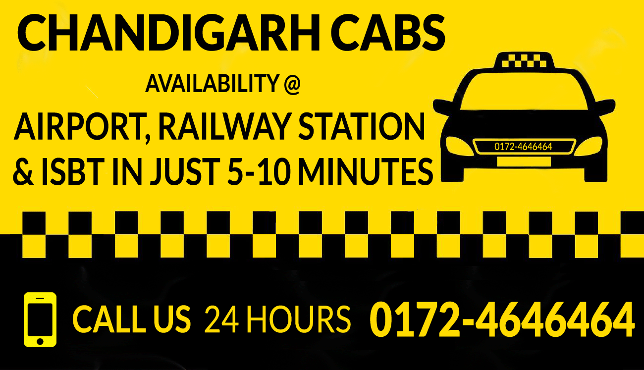 Cabs-in-chandigarh-airport