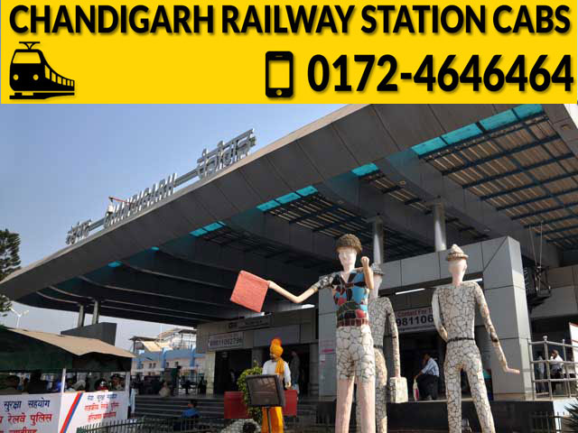 Chandigarh Railway Station Cab Service.