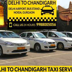Delhi to Chandigarh taxi service