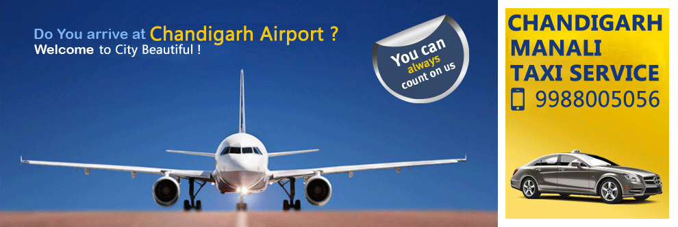 Chandigarh Airport to Manali Taxi