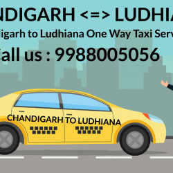 chandigarh to ludhiana taxi