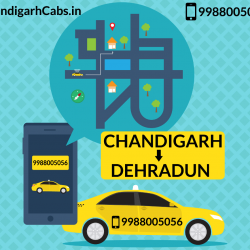 Chandigarh To Dehradun Taxi Service