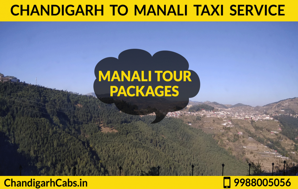 Chandigarh To Manali Tour Package