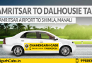 Amritsar To Dalhousie Taxi Service