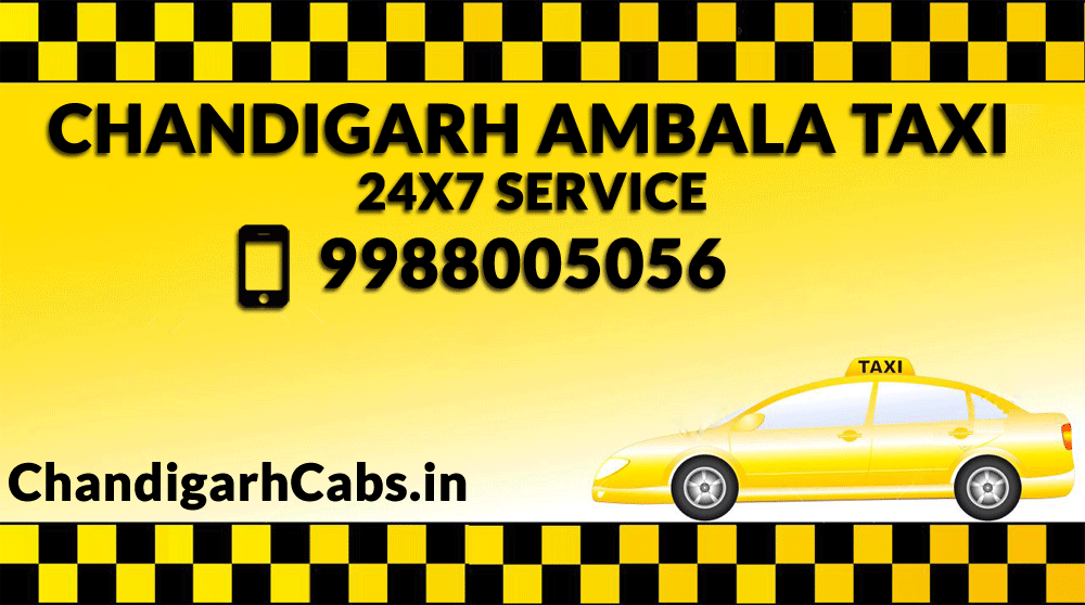 Taxi From Chandigarh Airport To Ambala - Chandigarh Cabs