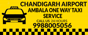 Taxi From Chandigarh Airport to Ambala