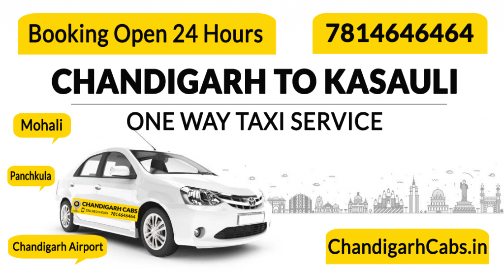 Chandigarh to Kasauli Taxi Service