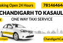 Chandigarh To Kasauli Taxi