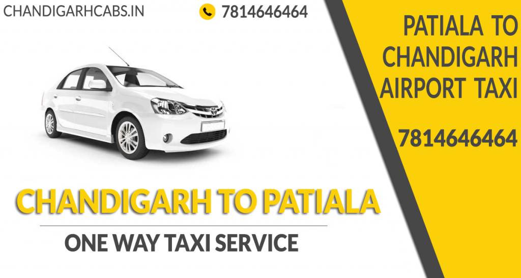 One Way Taxi From Chandigarh To Patiala
