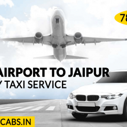 Book One Way Taxi From Delhi Airport To Jaipur
