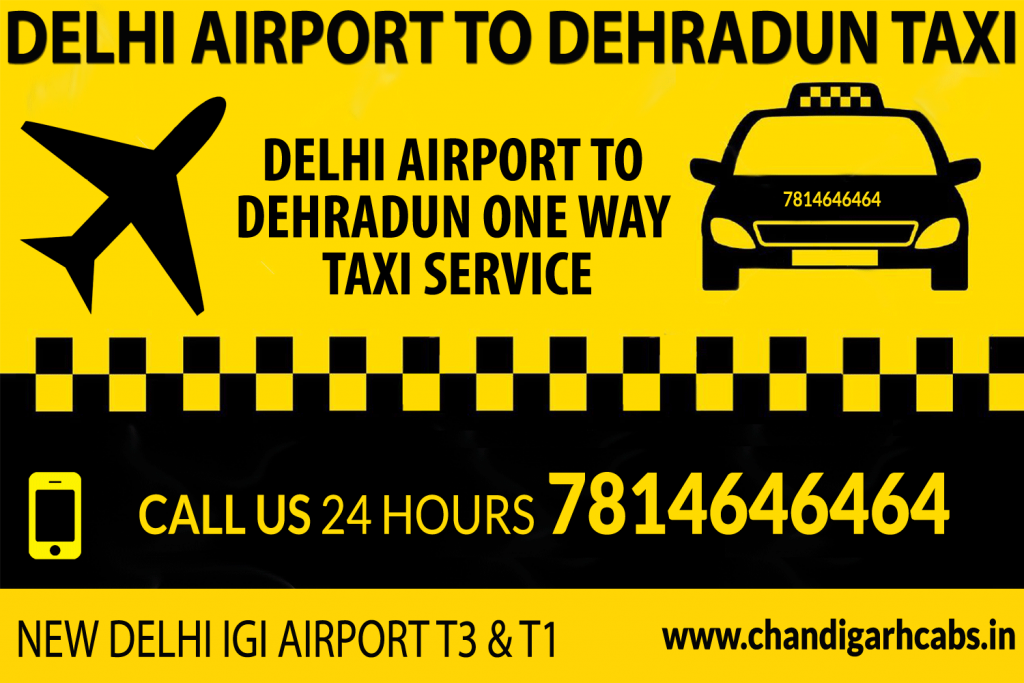 Book taxi from Delhi Airport To Dehradun